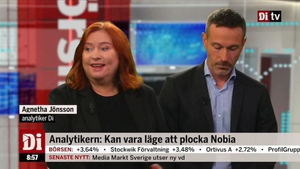 Jönsson: Kan vara läga att plocka Nobia