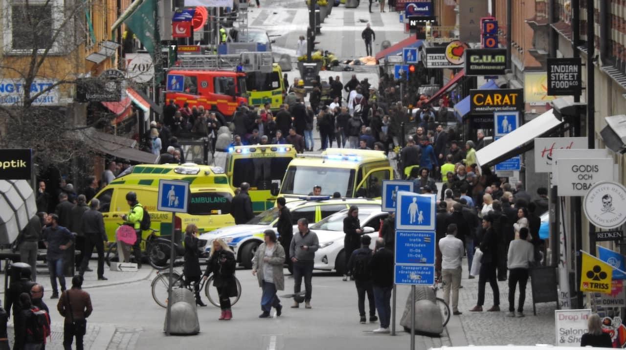 Terrordad Pa Drottninggatan I Stockholm Sammanfattning