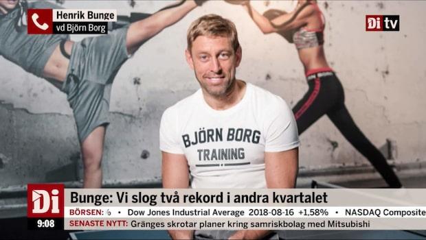 Björn Borg ökar både resultat och omsättning