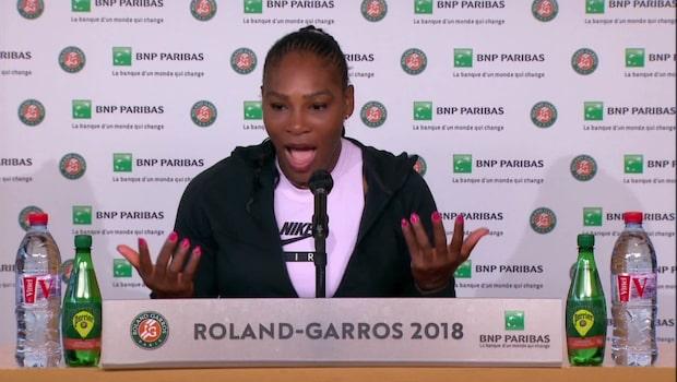 """Serena om öl-ryktet: """"Förstår inte hur det kom ut"""""""
