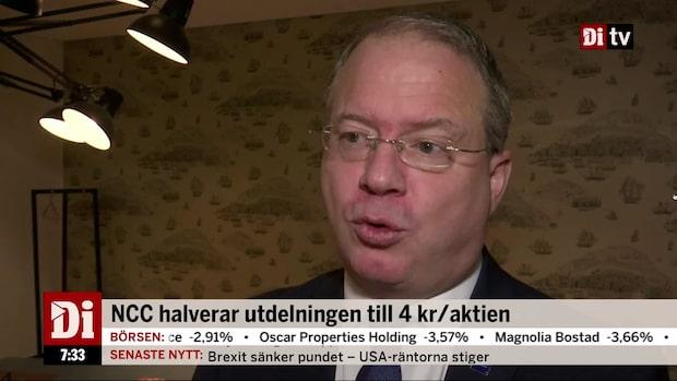 """Lundstedt, vd Volvo: """"En viss sättning i Nordamerika slår mot marginalen"""""""