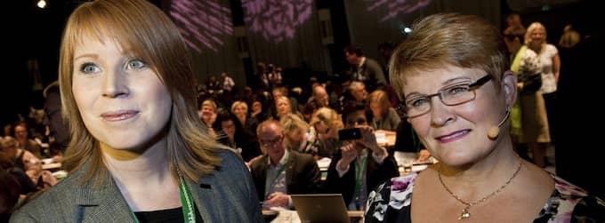 Maud Olofsson lämnar över ordförandeklubban och mycket tyder nu på att hon blir av med sin ministerpost. Foto: Pontus Lundahl / Scanpix