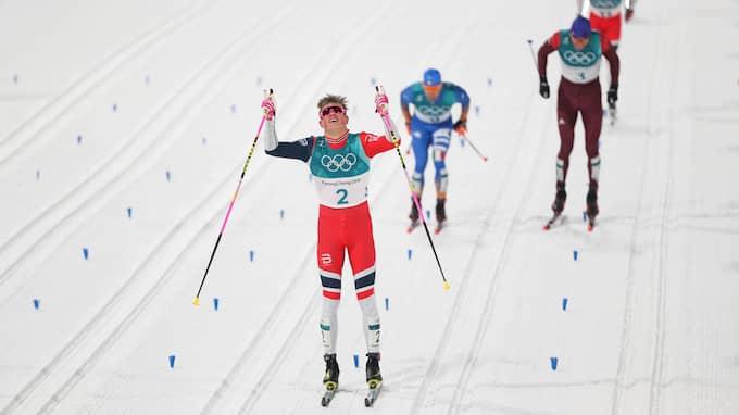 Ingen kunde hota den unge norrmannen. Foto: USA TODAY NETWORK / USA TODAY NETWORK/SIPA USA/IBL SIPA USA