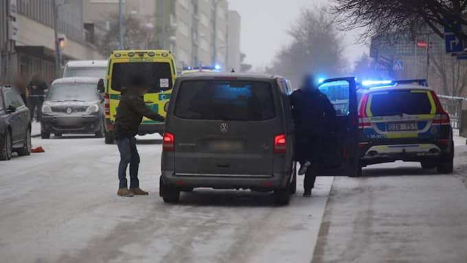 Mannen och hustrun höggs ihjäl. Foto: Alex Ljungdahl