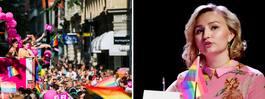 Ebba Busch Thors kritik mot inslagen i Pridetåget
