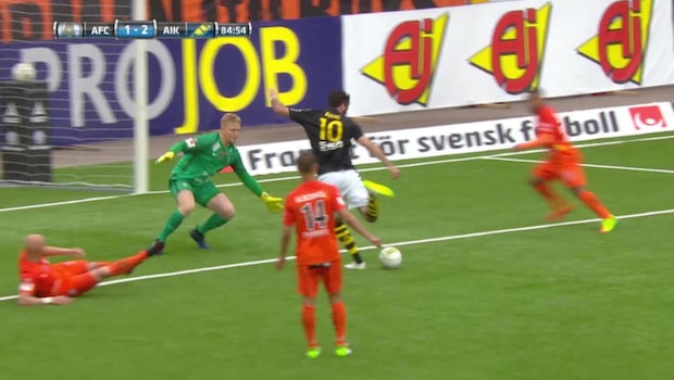 Här avgör Avdic för AIK