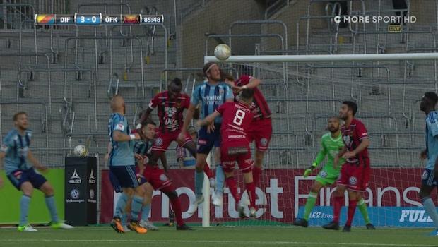 """Olsson gör sitt andra mål: """"Herregud"""""""