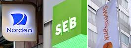 Sveriges bankkontor blir färre och färre