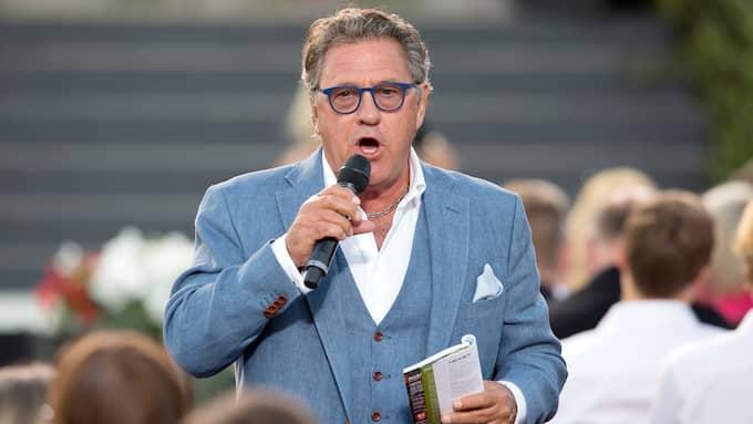 Tommy Körberg på Skansens scen. Foto: MAGNUS LILJEGREN/ALL OVER PRESS