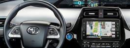 Snart kan du få reklam  på skärmarna i bilen