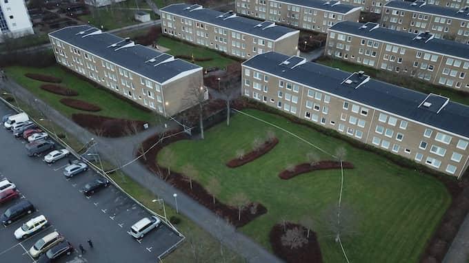Den senaste överfallsvåldtäkten inträffade i stadsdelen Högaholm den 29 december. En ensam kvinna överfölls av minst två män. Foto: Fritz Schibli