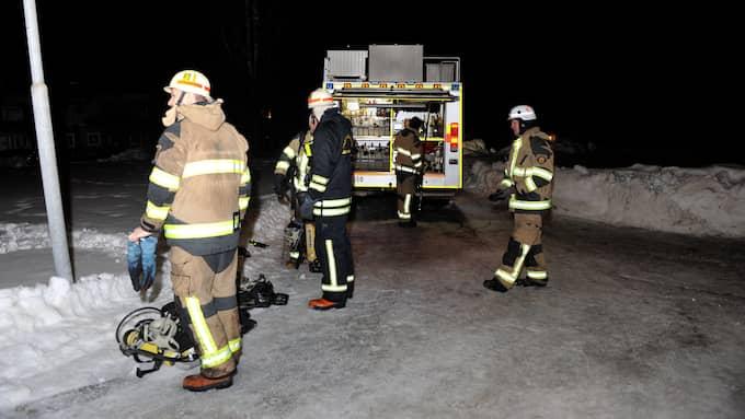 En person har dött i Hagfors i natt. Foto: David Hårseth/Dagsmedia.se
