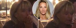 Lill-Babs i tårar efter  dottern Kristins fråga