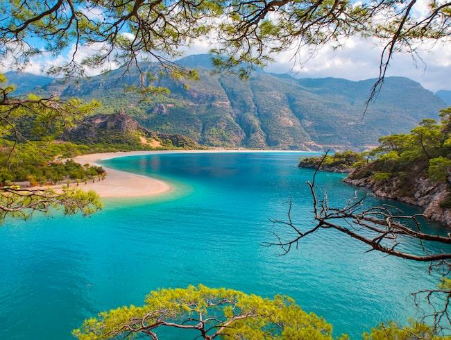 Den perfekta stranden för ett Lejon är den instagramvänliga stranden Ölüdeniz, i Turkiet.