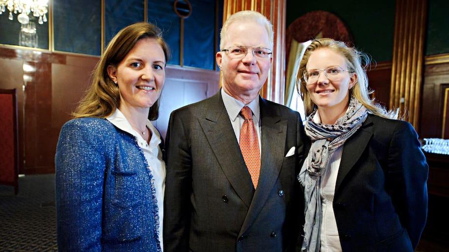 Pappa Fredrik Lundberg, 66, tillhör sveriges absolut rikaste och anses