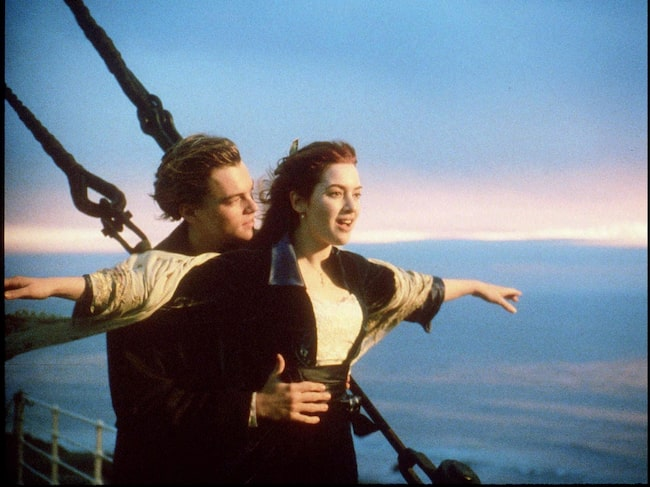 Succéfilmen med Leonardo DiCaprio och Kate Winslet kom 1997.