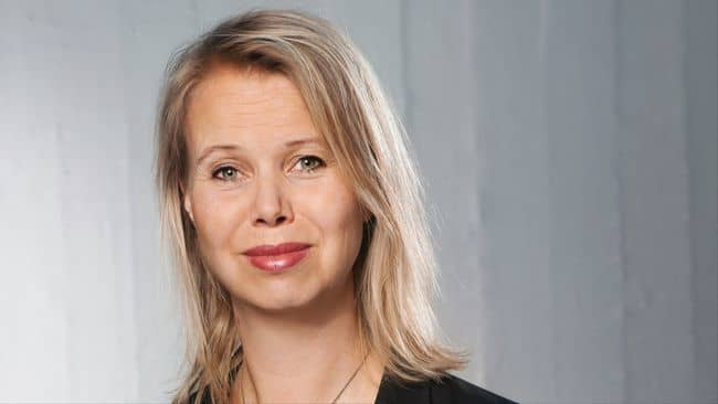 Anne Lagercrantz. Foto: SVT.