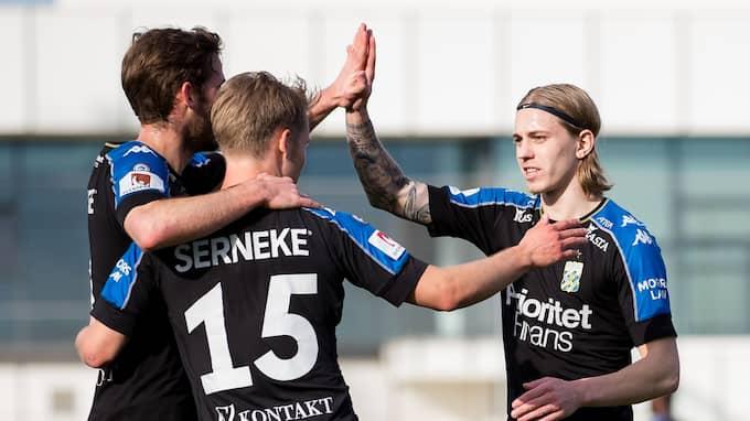 Elias Omarsson gjorde mål igen. Foto: MICHAEL ERIDCHSEN / BILDBYRÅN