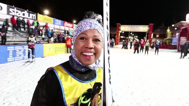 """Alice Bah Kuhnke i mål i Vasaloppet: """"En barndomsdröm"""""""