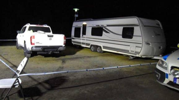 Det som rubriceras som ett mordförsök inträffade på Vegby camping i Ulricehamn i mars ifjol. Foto: POLISEN