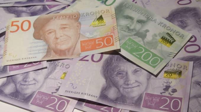 Han gjorde det rätta och lämnade in pengarna till polisen, men fick ingen hittelön. Foto: Nike Isaksson/Ibl-Aop