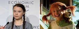 """""""Eko-Pippi"""" – Så hyllas Greta Thunberg i världen"""
