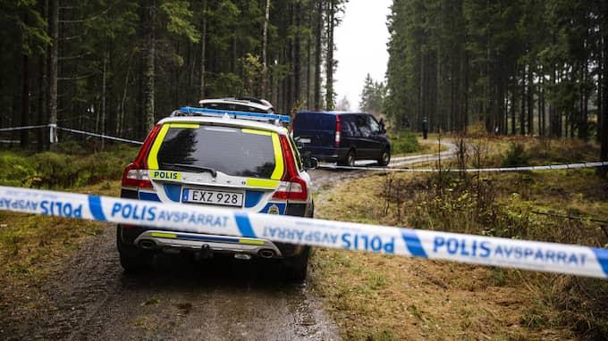I tisdags förra veckan hittades en kvinna i 60-årsåldern död vid ett motionsspår i Ulricehamn. Polisen misstänkte tidigt att kvinnan utsatts för ett brott Foto: HENRIK JANSSON / GT/EXPRESSEN