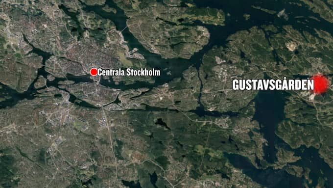 Gustavsgården ligger i Värmdö, cirka två mil från centrala Stockholm. Foto: Googlemaps