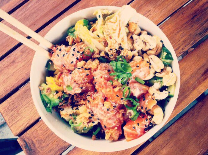 Poke bowls är en mix av snabbmat och hälsomat.