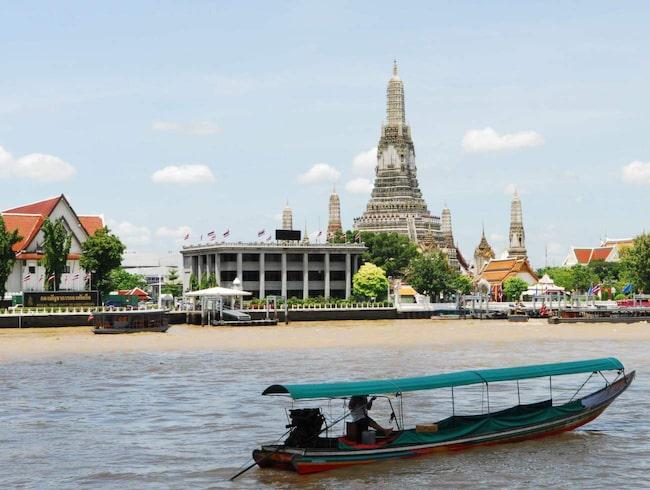 Den mäktiga Chao Phraya-floden  är Bangkoks pulsåder och bästa stället att inleda sina Bangkok-besök på.