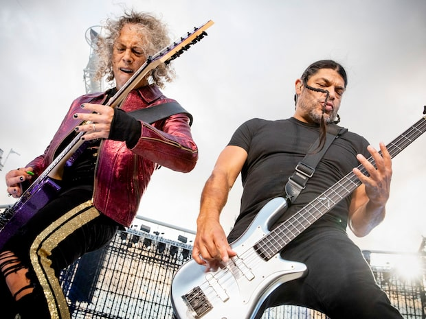 Metallicas jättegåva: 300 000 kronor till hemlösa