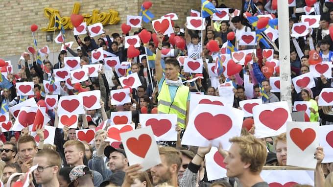 Manifestation på Medborgarplatsen. Foto: JONAS EKSTRÖMER/TT / TT NYHETSBYRÅN
