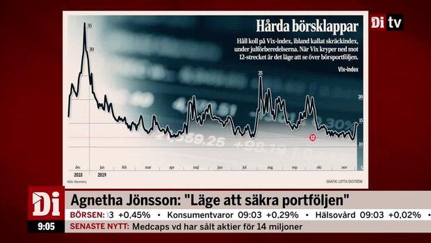 """Agnetha Jönsson: """"Läge att säkra portföljen"""""""