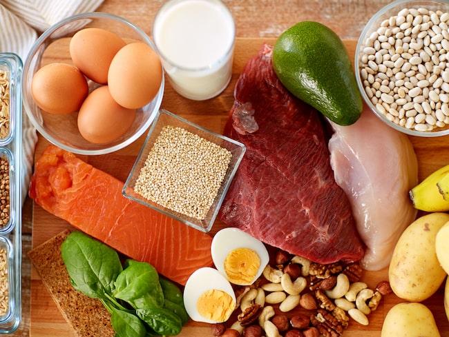 grönsaker med mycket protein