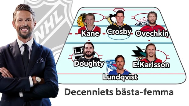 Här är decenniets bästa NHL-femma
