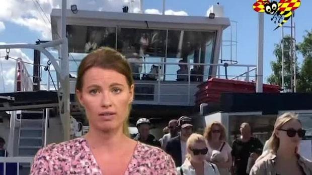 Utländska turister flockas till Sverige