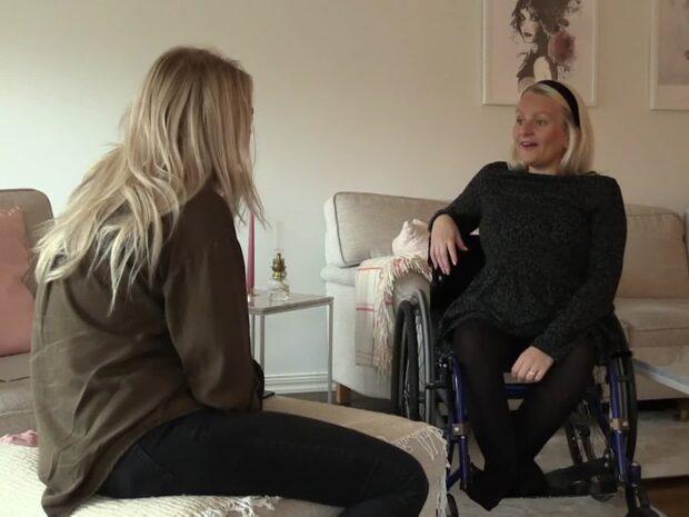 Mot alla odds: rullstolsburna Matilda är gravid med tvillingar