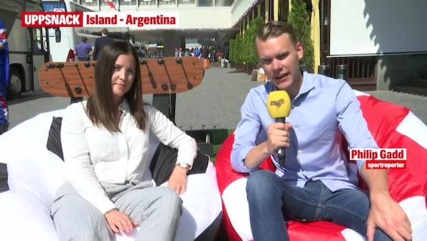 UPPSNACK: Island - Argentina