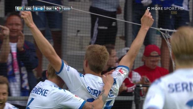 Boman utökar för Göteborg - nickar in 2-0