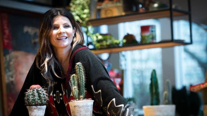 """""""Det är häftigt att fylla jämnt"""", säger Carola om den stundande 50-årsdagen. Foto: CHRISTER WAHLGREN"""