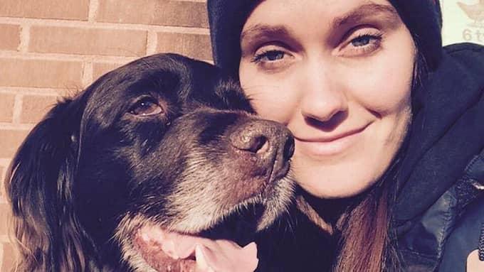 I 13 år hade Ida och hennes hund hållit ihop. I fredags dog Wilda i Idas famn. Foto: Privat