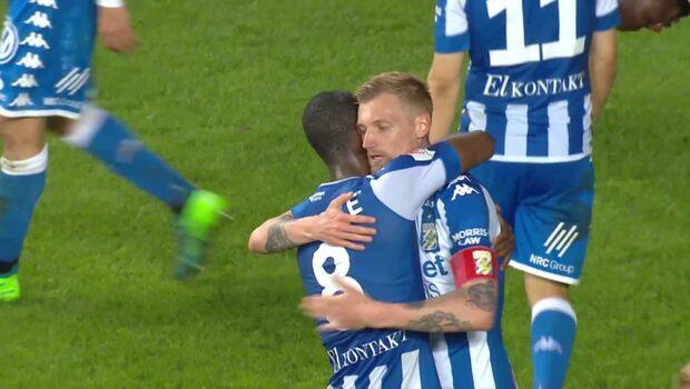Höjdpunkter: Gustav Engvall stor matchhjälte för IFK Göteborg