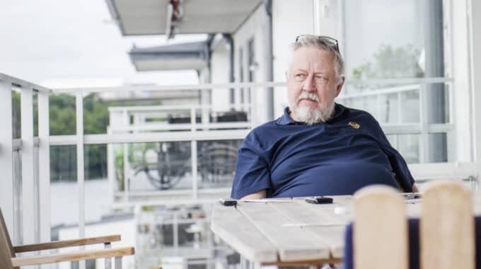 Leif GW Persson. Foto: Simon Hastegård
