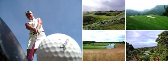 Svenska golfare har listat de bästa golfbanorna över hela världen - från Polen till Malaysia.