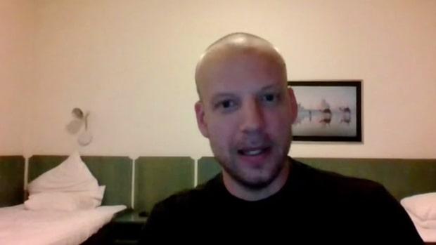 Han upptäckte hålet i Estonia