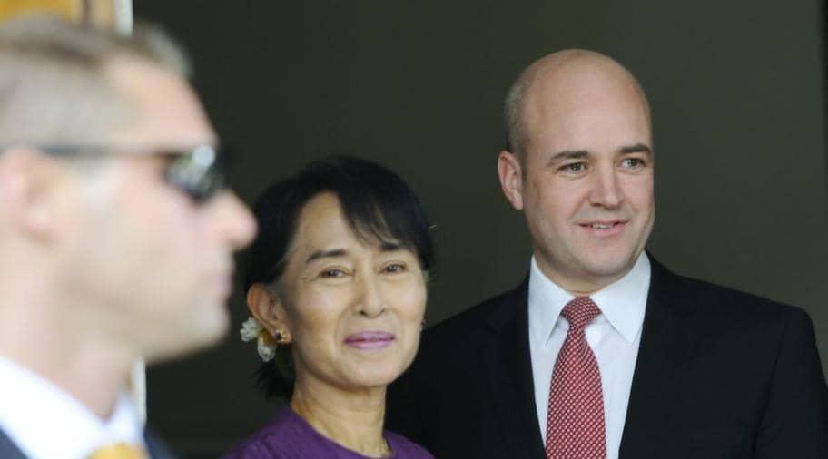 Reinfeldt framjar svenskt i asien