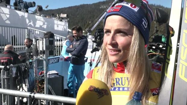 """Svenskan imponerade på Johaug: """"Jag är riktigt imponerad"""""""