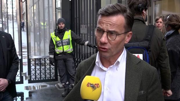 Ulf Kristersson inte helt nöjd med regeringens lagförslag