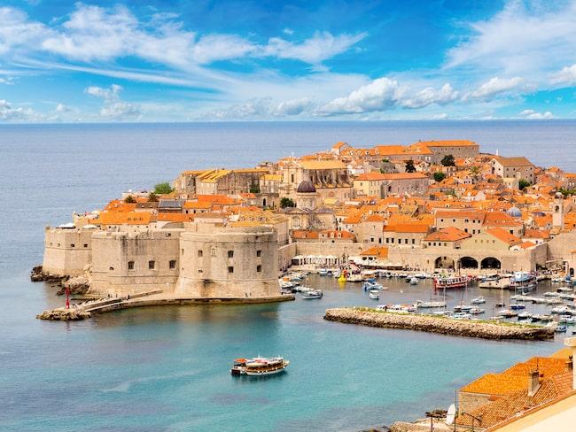 Vackra Dubrovnik, Kroatiens pärla.