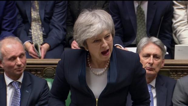 Brexitavtalet har röstats ned – misstroendeförklaring mot May